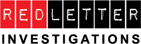 Red-Letter Investigations Logo